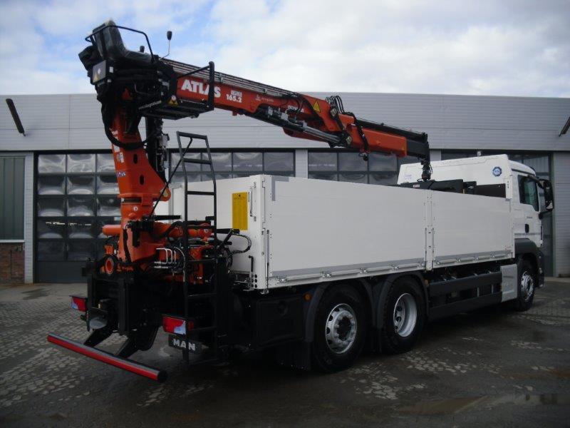 Fabelhaft Baustoffwagen mit Kran - ETC Miettrucks &GL_12